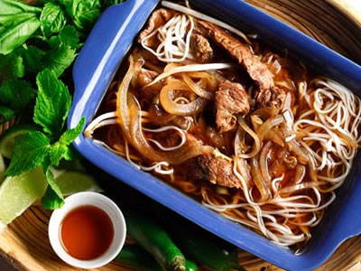 Vietnamese Pho Recipe Photo - Diabetic Gourmet Magazine Recipes