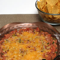 Warm Mole Bean Dip Recipe Photo - Diabetic Gourmet Magazine Recipes
