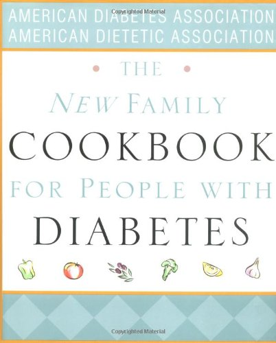The New Family Cookbook For People With Diabetes Book Cover Image