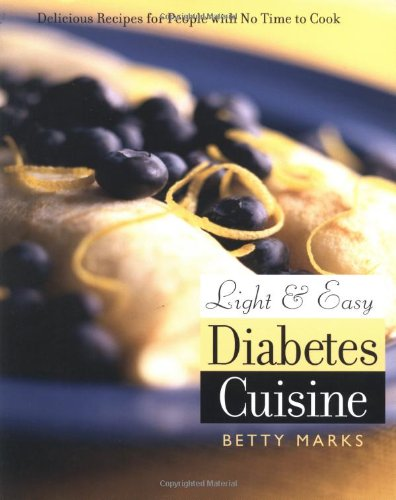 Light and Easy Diabetes Cuisine Book Cover Image