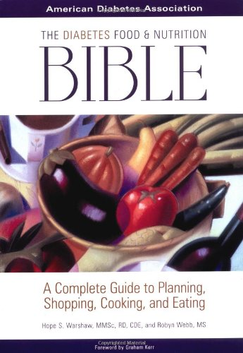 The Diabetes Food and Nutrition Bible Book Cover Image