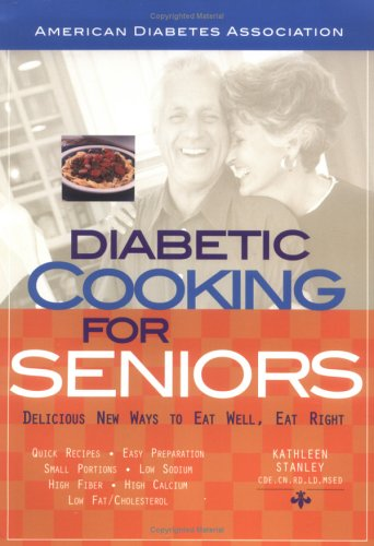 Diabetic Cooking for Seniors Book Cover Image