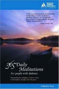 Book Cover Image: 365 Daily Meditations for People with Diabetes