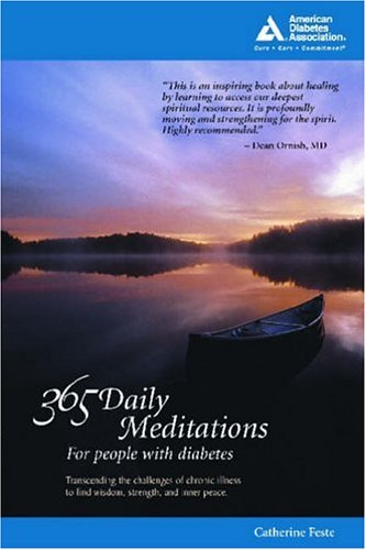 365 Daily Meditations for People with Diabetes Book Cover Image