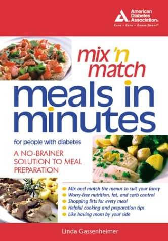 Mix 'n Match Meals in Minutes For People with Diabetes Book Cover Image