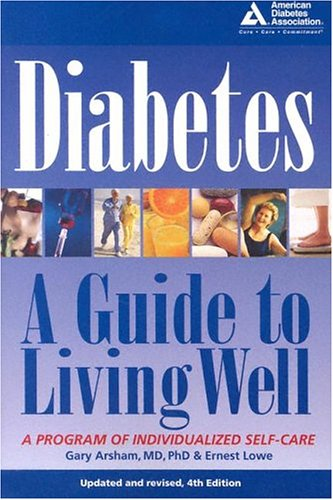 Diabetes, A Guide to Living Well Book Cover Image