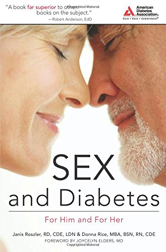 Sex and Diabetes: For Him and For Her Book Cover Image