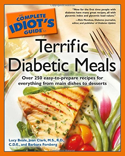 Complete Idiot's Guide to Terrific Diabetic Meals (The Complete Idiot's Guide) Book Cover Image