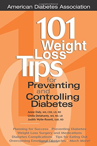 101 Weight Loss Tips for Preventing and Controlling Diabetes Book Cover Image