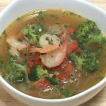 Shrimp and Skinny Noodle Soup