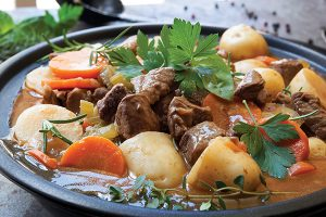 Photo of Hearty Lamb Stew - Recipe from Diabetic Gourmet Magazine