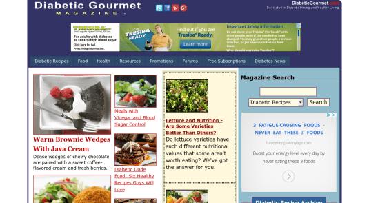 Best diabetes websites hand picked list diabetic gourmet magazine best diabetes websites hand picked list forumfinder Image collections