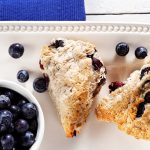 Sugarfree Blueberry Bannock