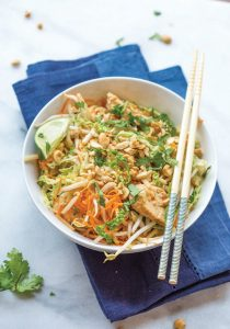 Chicken Pad Thai - Diabetic Recipe for Chicken Pad Thai