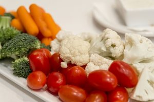 Veggie Tray - Vegetables for Diabetic Snacking