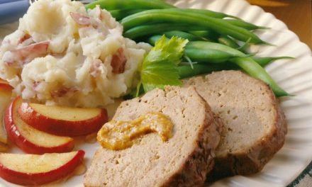 Apple-Mustard Meat Loaf