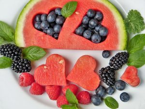 Plate of Fruit Kids Love -Teaching Kids Good Eating and Activity Habits