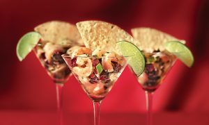 Cranberry Shrimp Ceviche Recipe