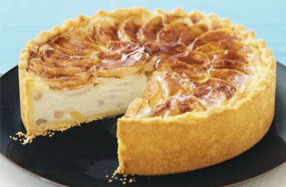 Apple Cheesecake Recipe Photo - Diabetic Gourmet Magazine Recipes