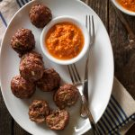 Beef and Zucchini Appetizer Meatballs