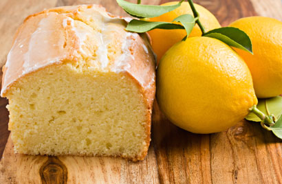Lemon Pound Cake Recipe Photo - Diabetic Gourmet Magazine Recipes