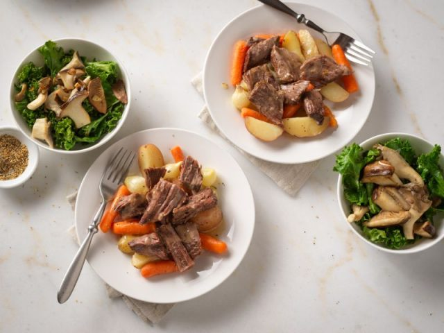 Lemon-Herb Pot Roast Recipe Photo - Diabetic Gourmet Magazine Recipes