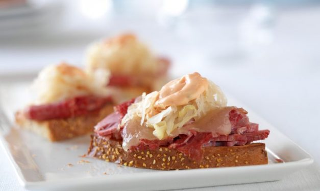 Reuben Bites Party Appetizer