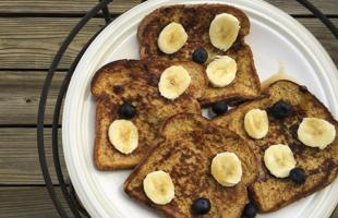 Vanilla French Toast Recipe Photo - Diabetic Gourmet Magazine Recipes