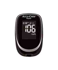 AccuCheck-Nano-Glucose-Meter