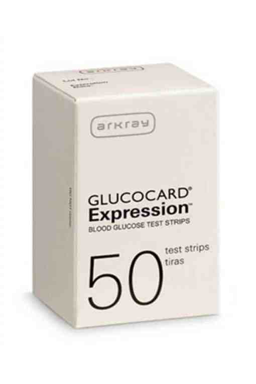 Akray-GlucoCard-Expression-Test-Strips