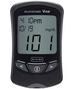 Arkray-GlucoCard-Vital-Glucose-Meter-Black
