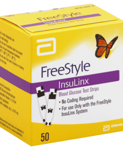 freestyle insulinx test strips