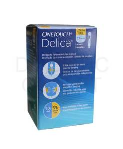 ONETOUCH DELICA LANCETS 100ct.