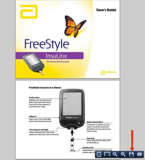 user manual glucose meter