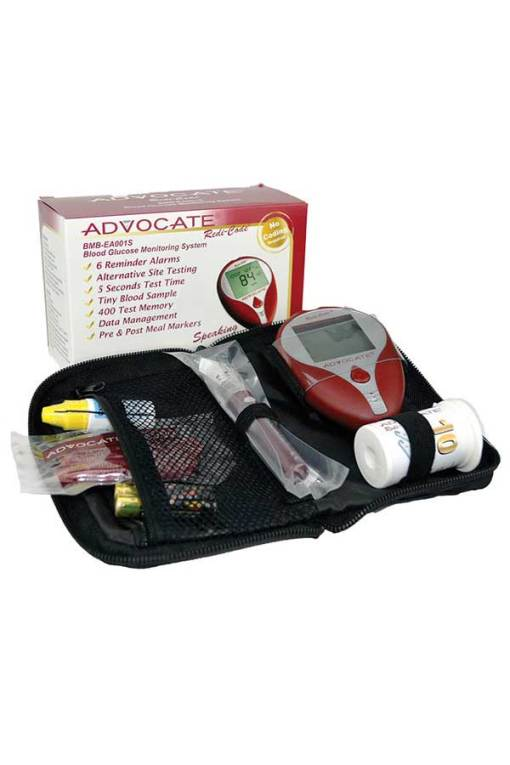 ADVOCATE-Redi-Code-Speaking-Blood-Glucose-Kit