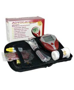 ADVOCATE REDI-CODE+ SPEAKING GLUCOSE METER KIT