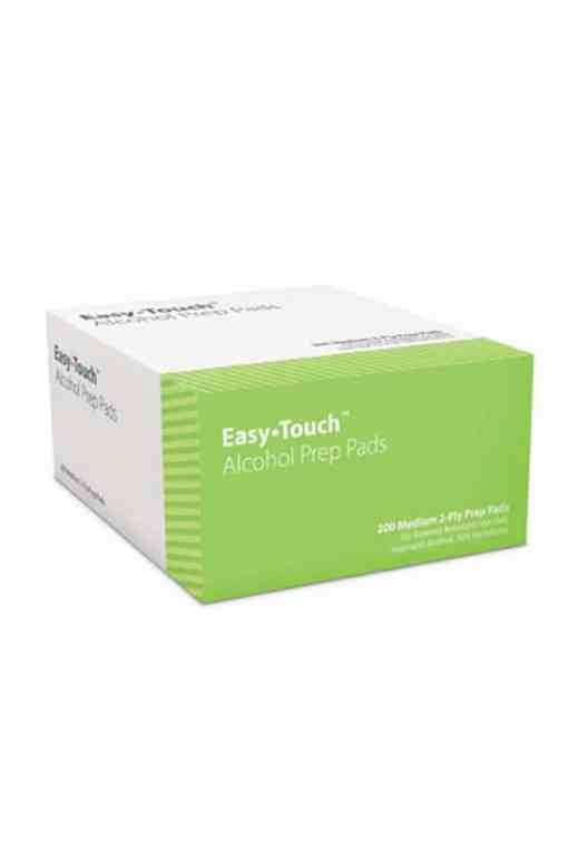 Easytouch alcohol prep pads 200 count