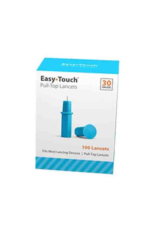 Easytouch pull top lancets 30g