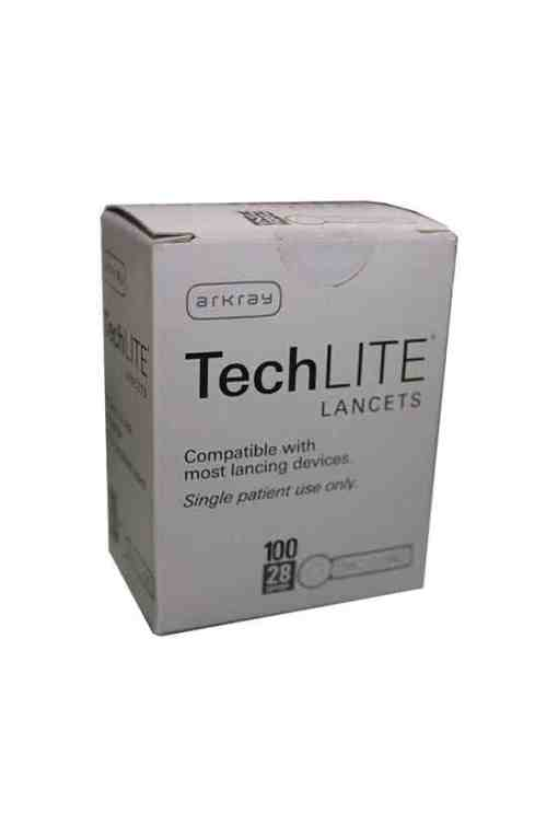 arkray-techlite-lancets-28-gauge-100-count