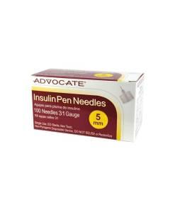advocate-31g-3-16-5mm-insulin-pen-needle-100ct