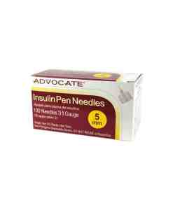 ADVOCATE INSULIN PEN NEEDLES 100/BOX