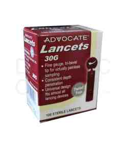 ADVOCATE TWIST TOP LANCETS 100ct. 30G