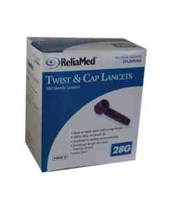 reliamed-twist-cap-lancets-100ct-28g