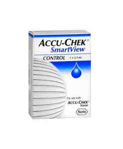 ACCU-CHEK SMARTVIEW CONTROL SOLUTION 1 2.5mL