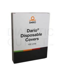 "DARIO 100 DISPOSABLE COVERS (4.5""X 8.25"")"