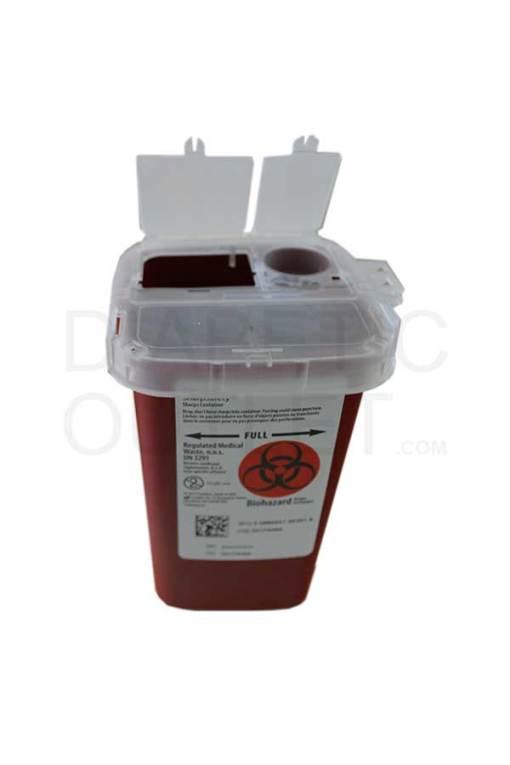 Medtronic-Autodrop-Sharps-container-1-quart