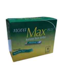 NOVA MAX KETONE TEST STRIPS 10ct.