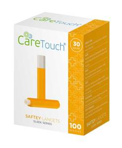 CARETOUCH SAFETY LANCETS 100ct.