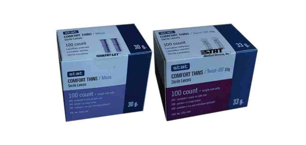 Stat-Comfort-thins-lancets-most-affordable-lancets