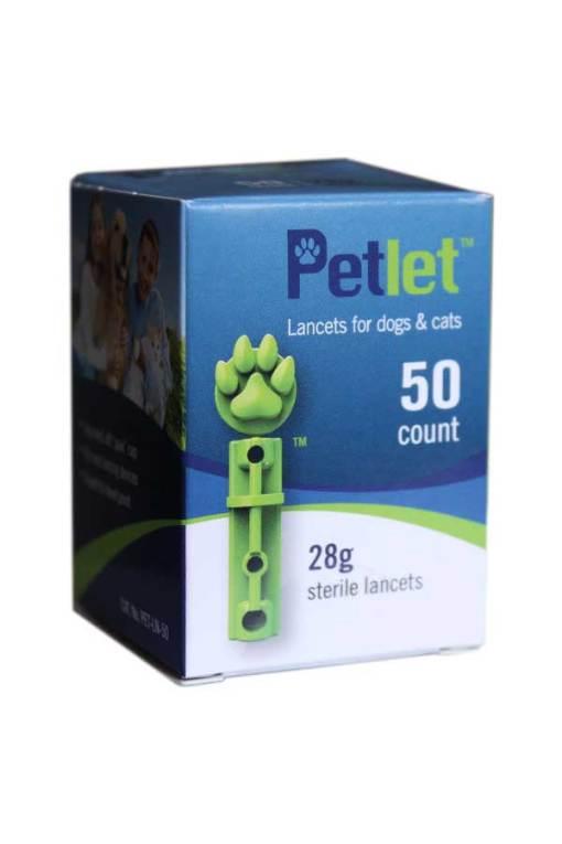 PetLet-Lancets-50-count-28g